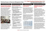Working Groups as Classroom Management Style