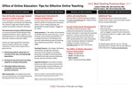 Office of Online Education: Tips for Effective Online Teaching