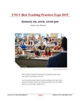 UNLV Best Teaching Practices Expo 2019