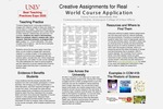 Creative Assignments for Real-World Course Application
