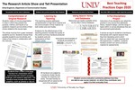 The Research Article Show and Tell Presentation