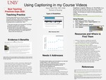 Using Captioning in my Course Videos by Karyn Holt