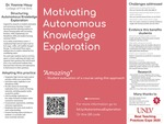 Motivating Automomous Knowledge Exploration by Yvonne Houy