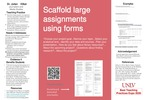 Scaffold Large Assignments Using Forms by Julian Kilker
