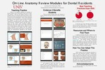 On-Line Anatomy Review Modules for Dental Residents