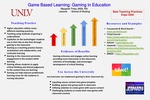 Game Based Learning: Gaming in Education by Margaret Trnka