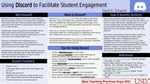 Using Discord to Facilitate Student Engagement by David Schwartz