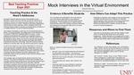 Mock Interviews in the Virtual Environment by Roberta Jo Barnes