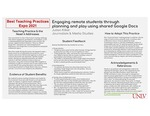 Engaging Remote Students through Planning and Play Using Shared Google Docs by Julian Kilker