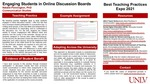 Engaging Students in Online Discussion Boards