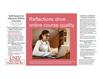 Reflections Drive Online Course Quality by Nicole Hudson