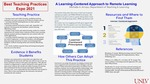 A Learning-Centered Approach to Remote Learning
