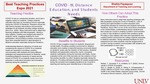 COVID-19, Distance Education, and Students Needs