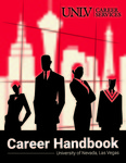 Career Handbook by UNLV Career Services