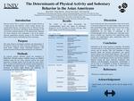 The Determinants of Physical Activity and Sedentary Behavior in the Asian Americans by Raisa Kabir, Sayeda Tazim Zaidi, and Chia-Liang Dai