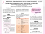 Identifying Determinants of Breast Cancer Screening Through Mammography Among Asian American Women