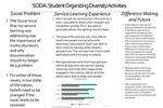 SODA: Student Organizing Diversity Activities