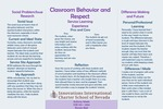 Classroom Behavior and Respect by Anthony Weeks
