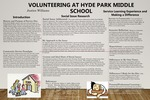 Volunteering at Hyde Park Middle School by Justice Williams