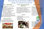 Volunteering at Gurdwara's Baba Deep Singh Ji's Community Dinner by Satinderjit Dhaliwal