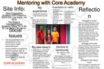 Mentoring with Core Academy by Danielle Olson