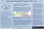 Volunteering with Project F.O.C.U.S. by Chasen Billon