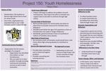 Project 150: Youth Homelessness