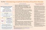 Volunteering at Catholic Charities of Southern Nevada by Thu Pham