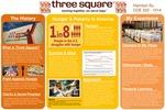 Three Square by Harrison Su