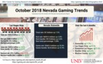 October 2018 Nevada Gaming Trends