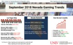 September 2018 Nevada Gaming Trends
