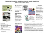 A Narrative Criticism of Online Anti-Vaccine Stories of VaxTruth by Stephanie Willes
