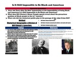 Is it Still Impossible to be Black and American