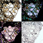 Facets of a Martian Olivine by Amanda Ostwald