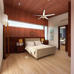 Sinatra Living: Interior, Bedroom by University of Nevada, Las Vegas Solar Decathlon Team.