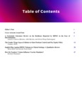 Spectra Volume 1, Issue 2: Table of Contents by UNLV Office of Undergraduate Research